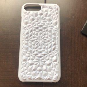 Accessories - White kaleidoscope case iPhone 7 Plus/ 8 plus